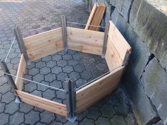 Der Hochbeet-Bausatz Im Stecksystem
